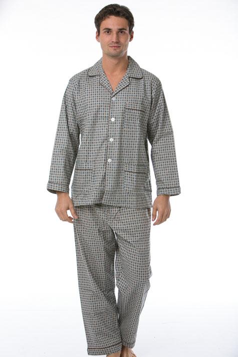 Pánské pyžamo, flanel 1P0479
