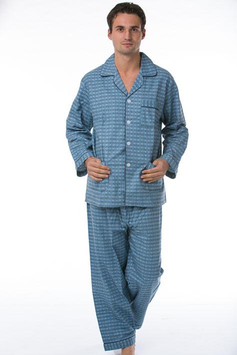 Pánské pyžamo, flanel