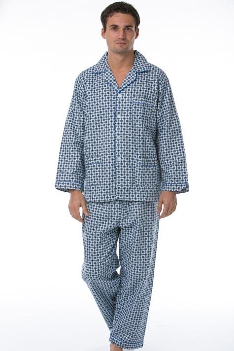 Pánské pyžamo, flanel 1P0477