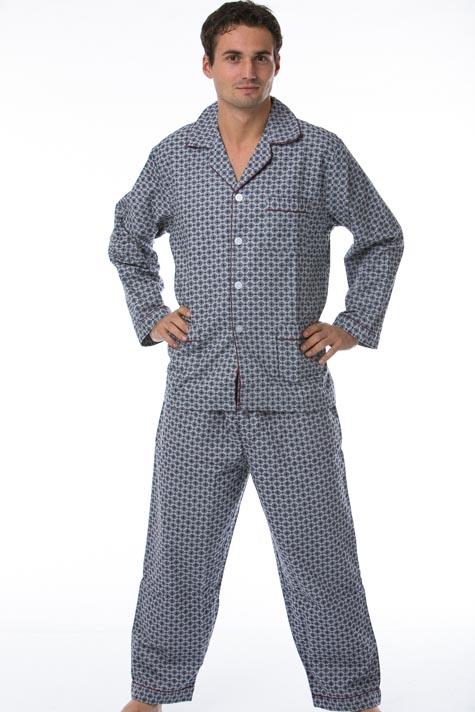 Pánské pyžamo, flanel 1P0448