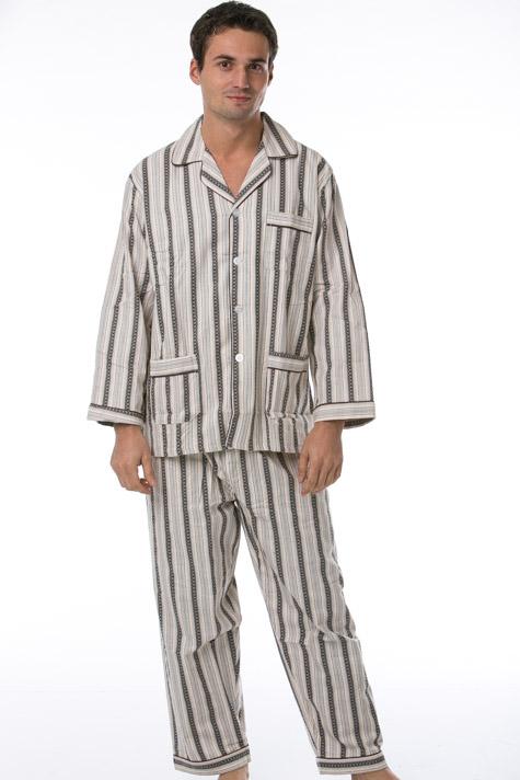 Pánské pyžamo, flanel 1P0476