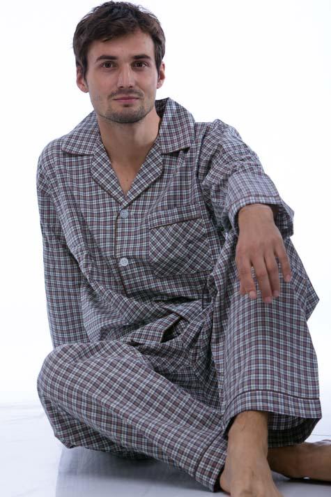 Pyžamo z bavlny pro muže PAPM276