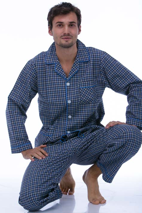 Pyžamo z bavlny pro muže PAPM419