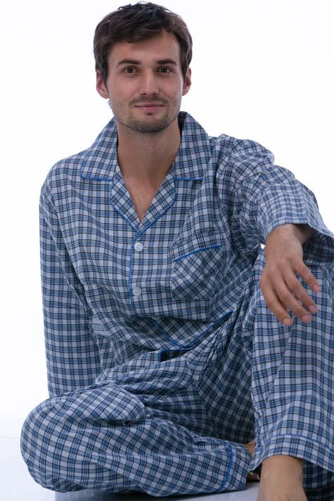 Pyžamo z bavlny pro muže