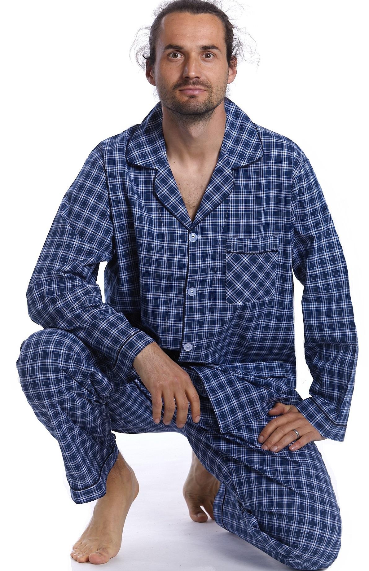 Pyžamo z bavlny pro muže PAPM272