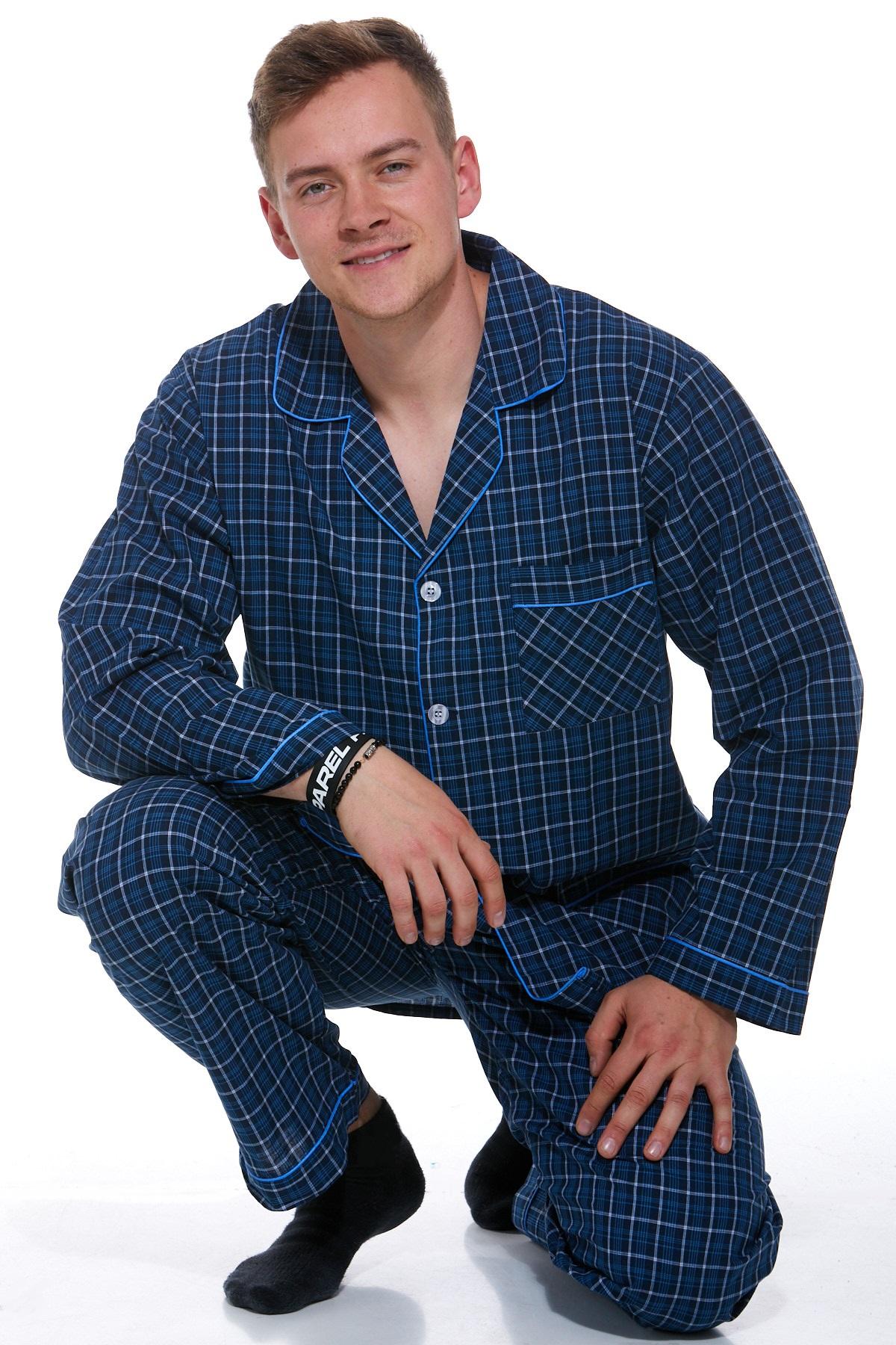 Pyžamo z bavlny pro muže PAPM269