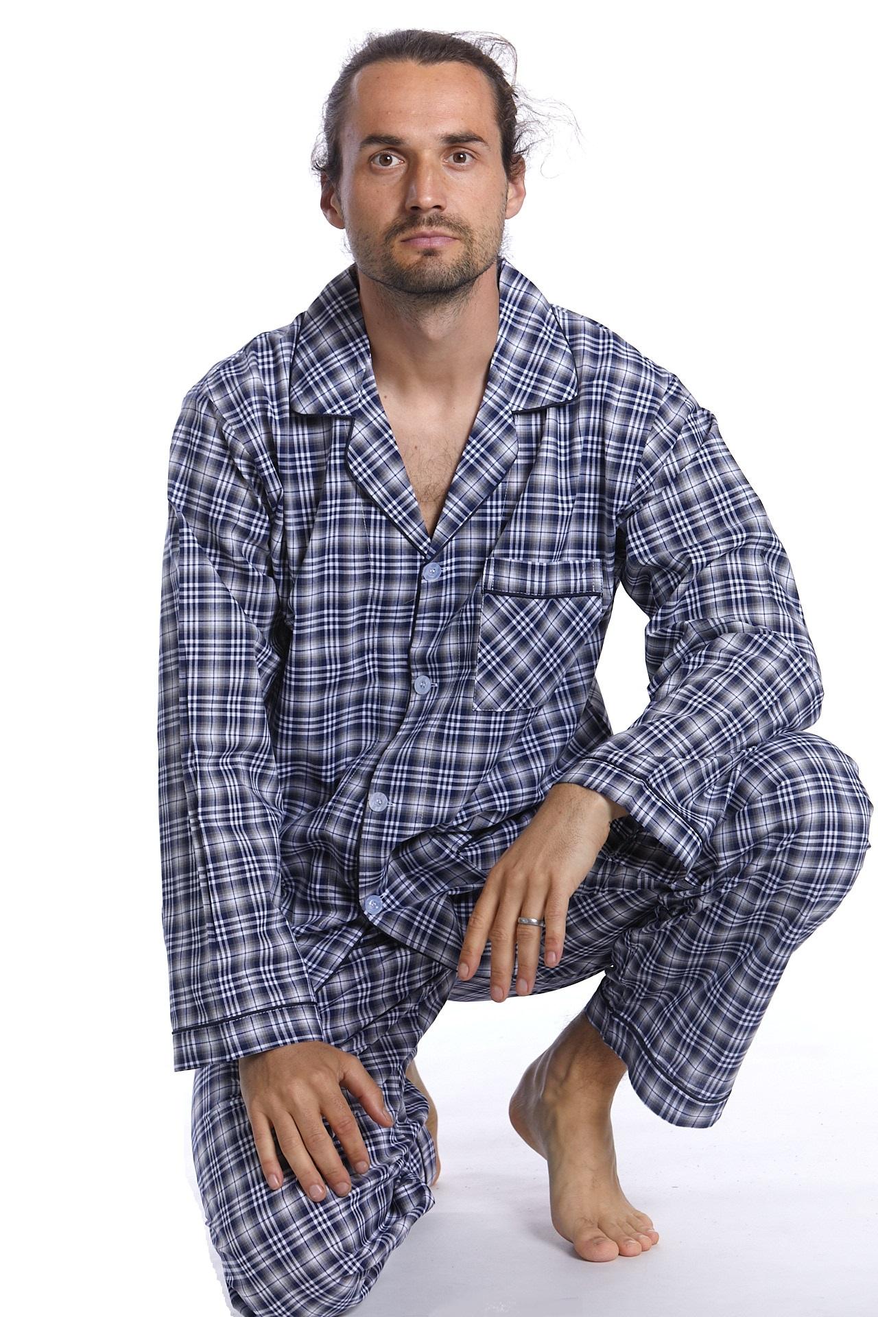 Pyžamo z bavlny pro muže PAPM265