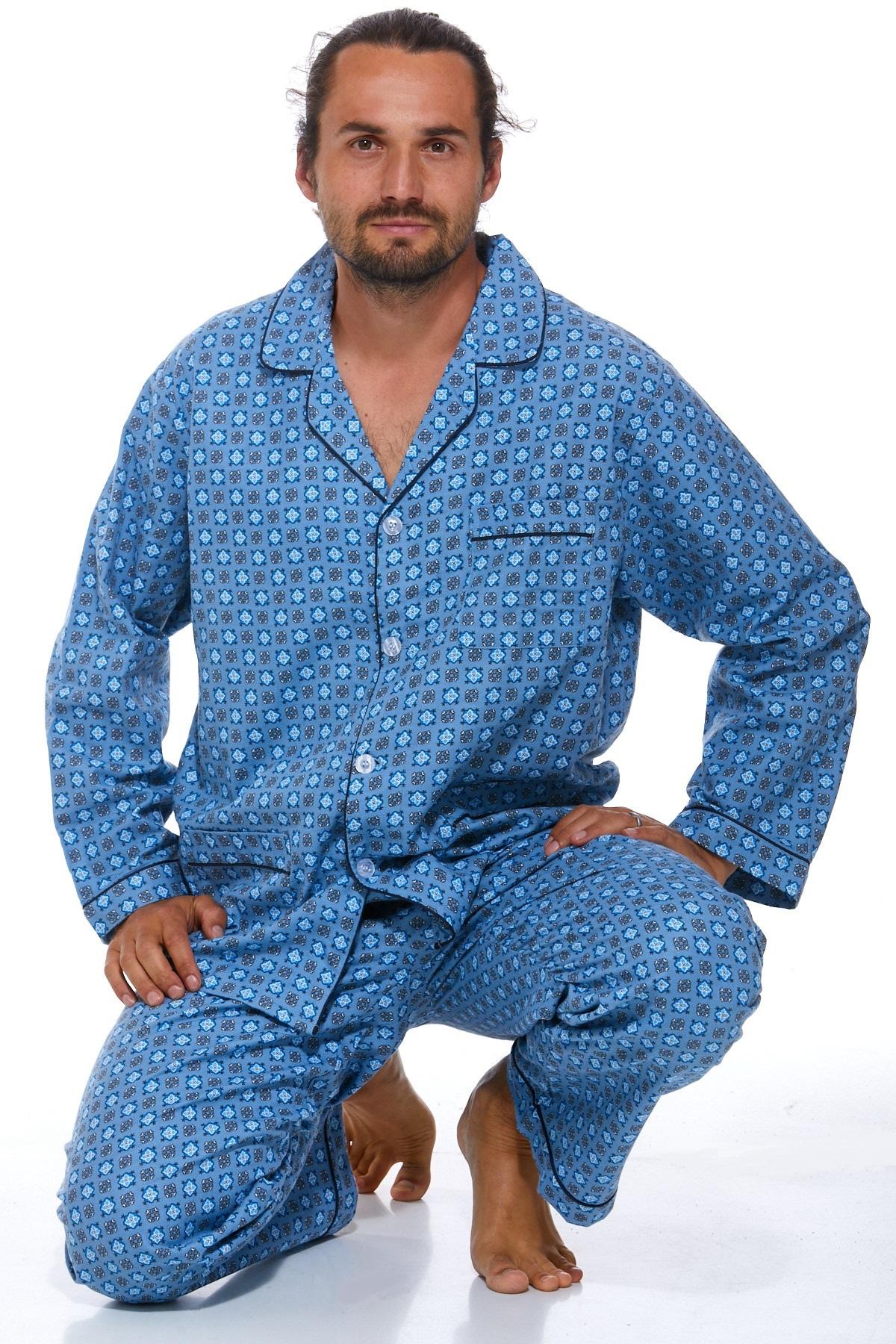 Pyžamo teplé pro muže PAPM412