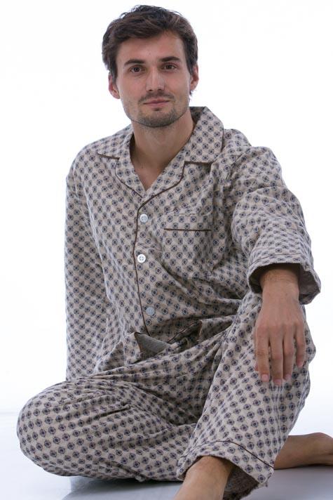 Pyžamo teplé pro muže PAPM257