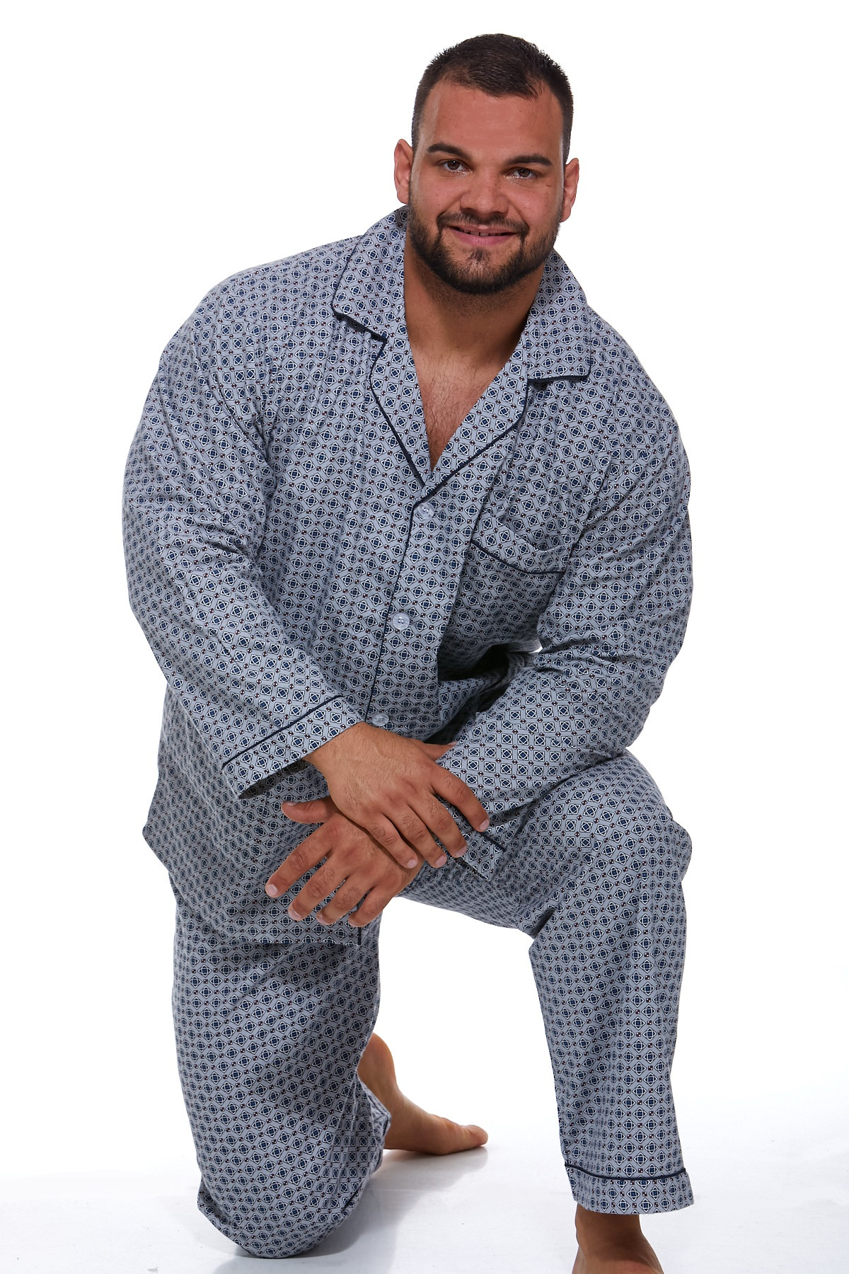 Pyžamo teplé pro muže PAPM430