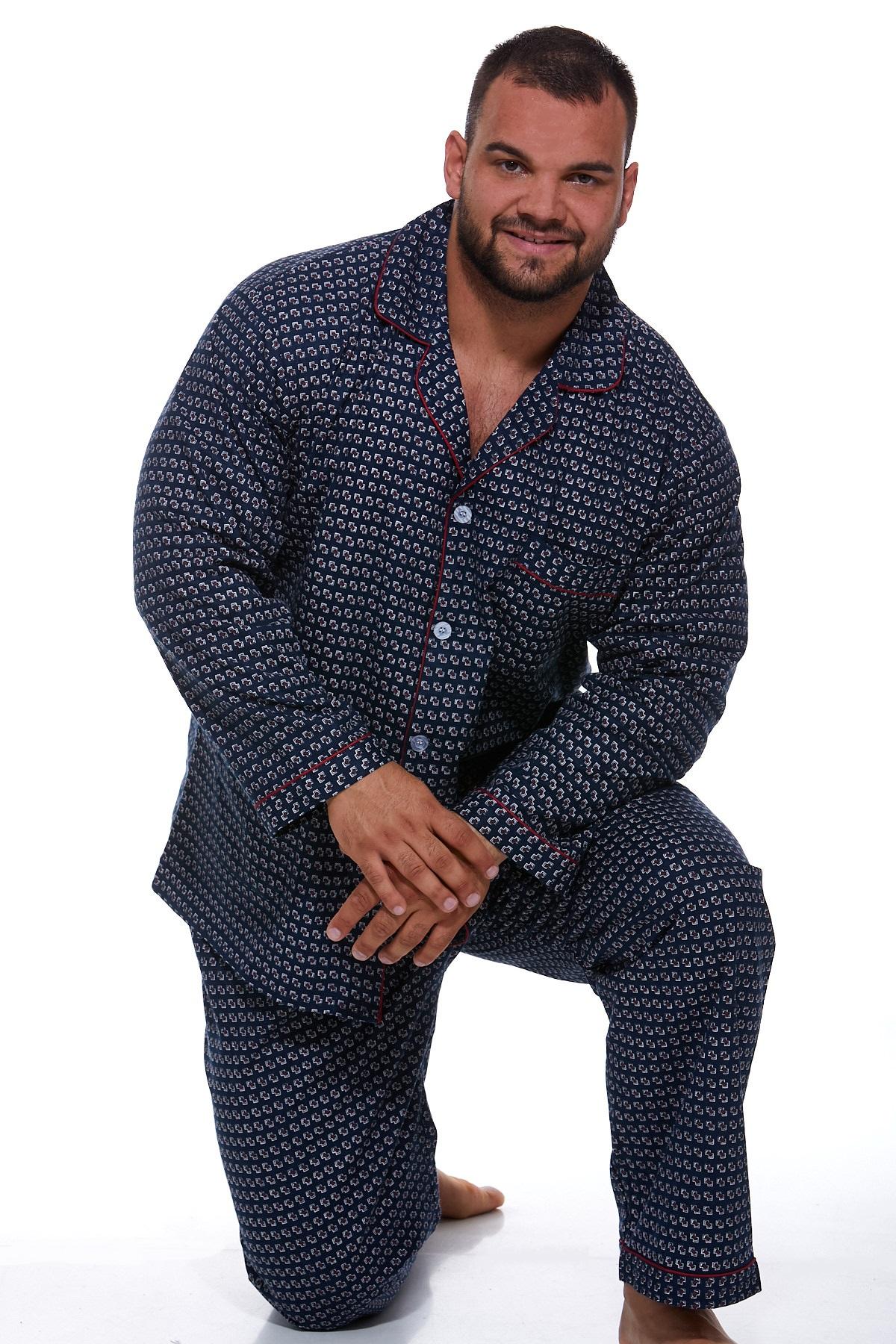 Pyžamo teplé pro muže PAPM255