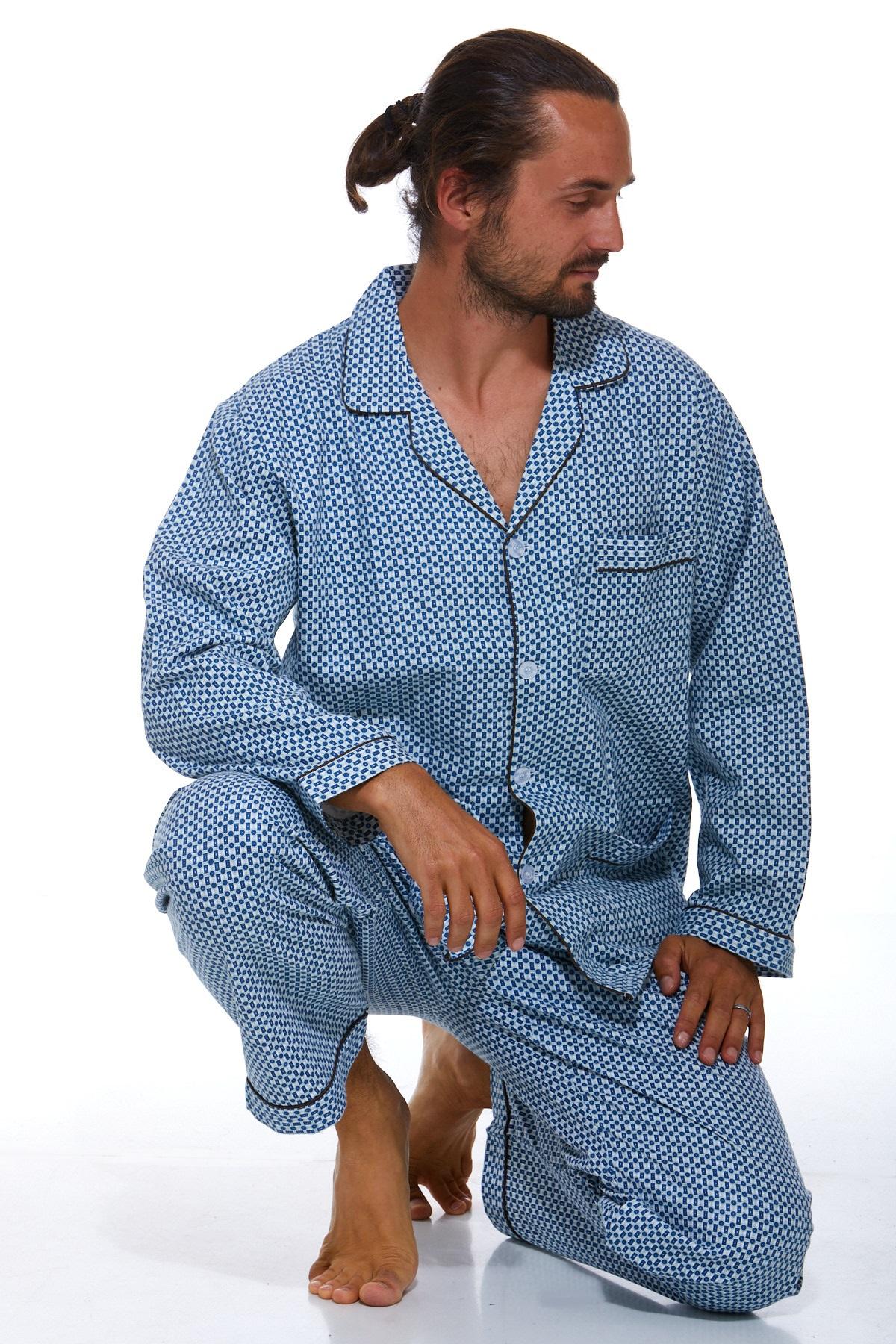 Pyžamo teplé pro muže 1P0432