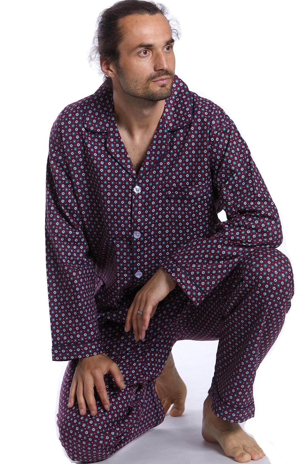 Pánské pyžamo, flanel 1P0454