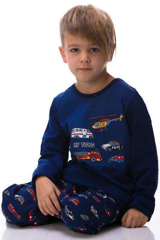 Chlapecké pyžamo zateplené 1F0345