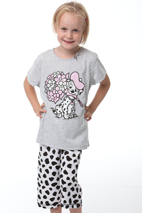 Dívčí pyžamo-Dalmatin