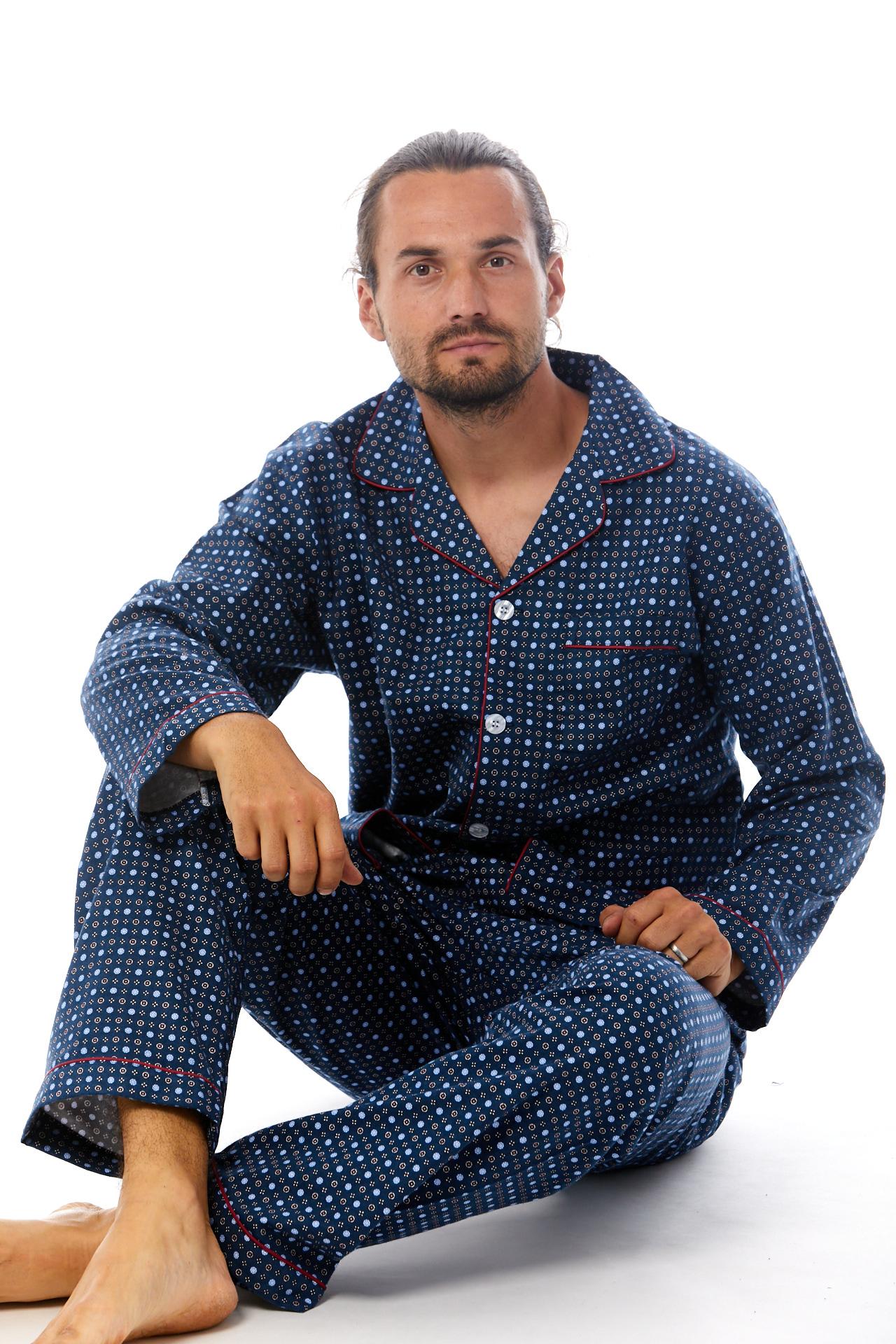 Pyžamo pro muže, flanel 1P0440