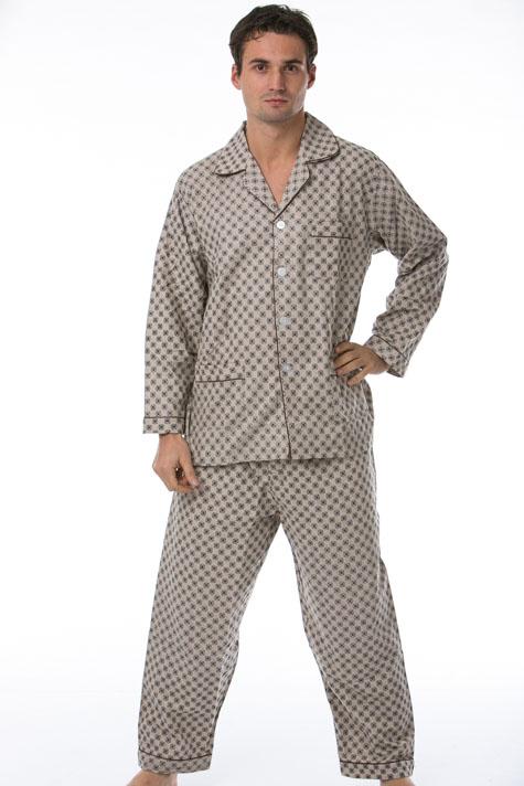Pánské pyžamo, flanel 1P0449
