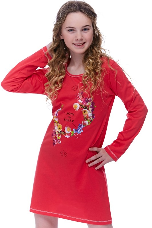 Noční košilka dívčí Koralss 1F0398