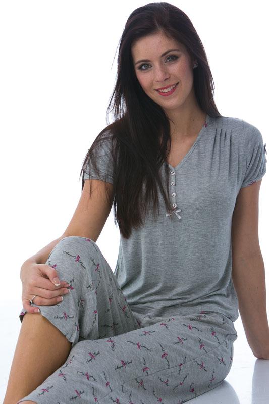 Jemné pyžamo dámské