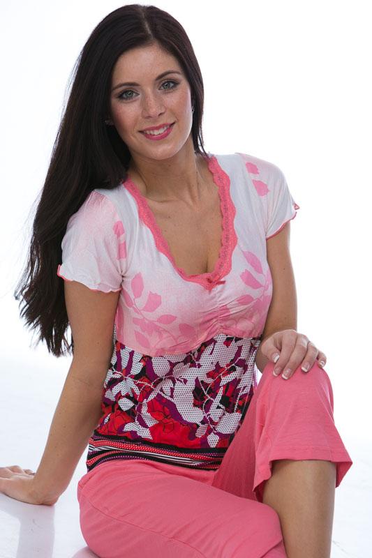 Jemné pyžamo z viskózy 1D0376