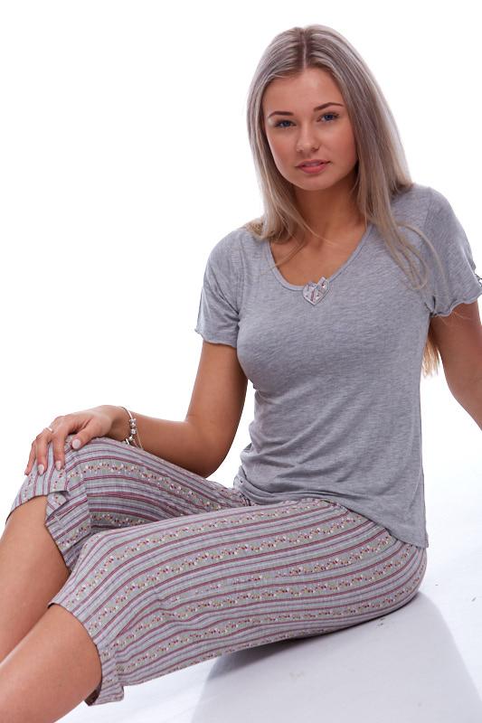 Jemné pyžamo z viskózy 1D0366