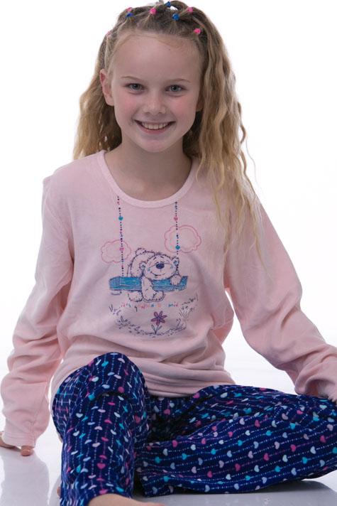 Pyžamo dívčí teplé