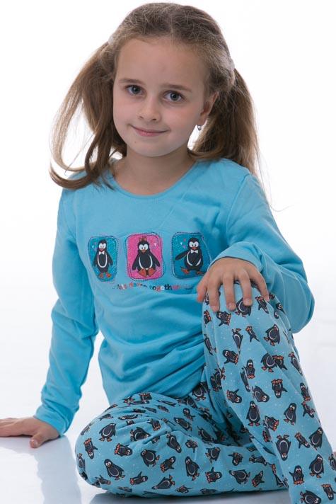Pyžamo dívčí zateplené
