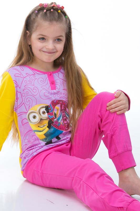 Dívčí pyžamo  1F0336