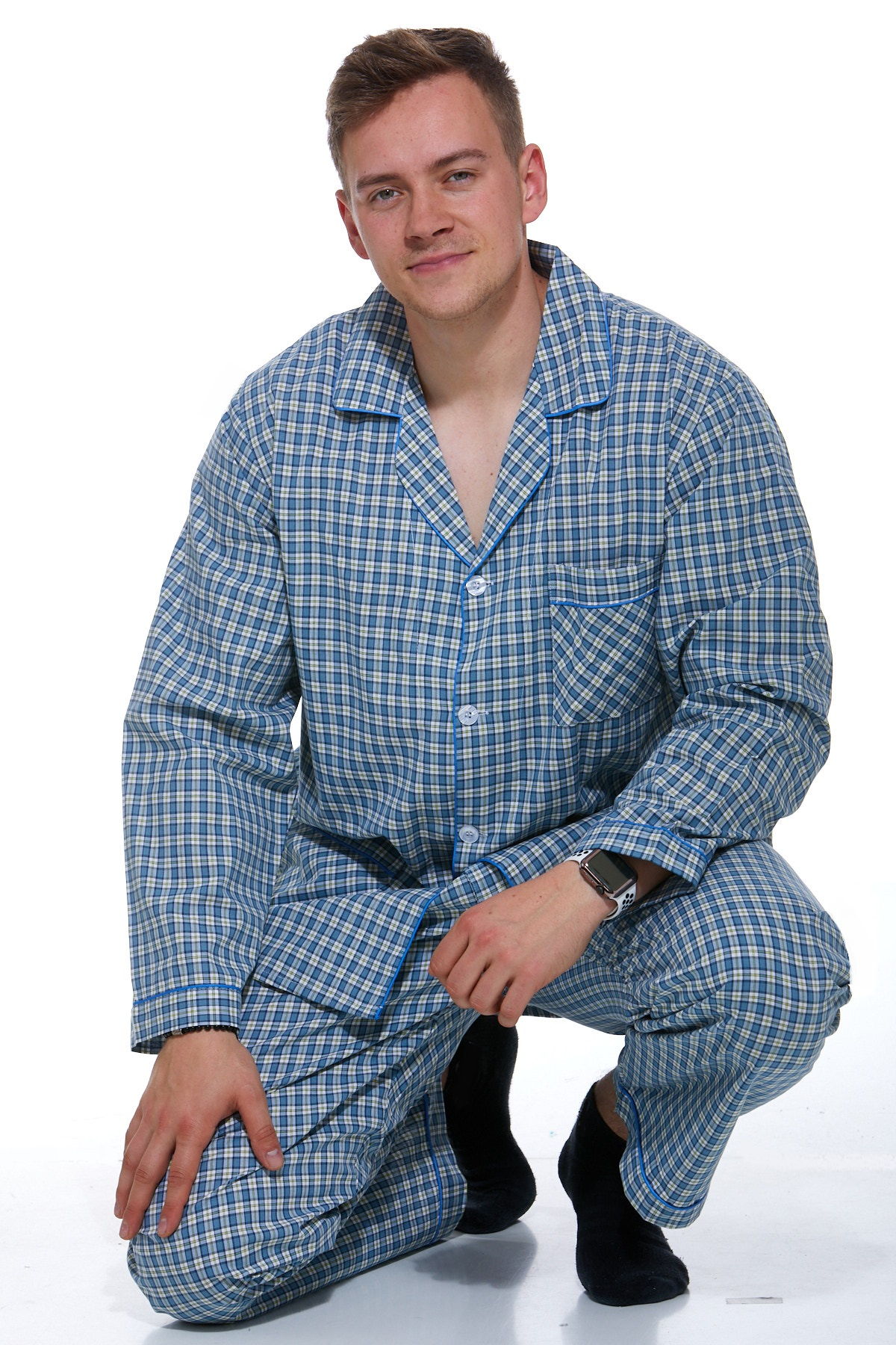 Pyžamo pro muže, klasické 1P0201