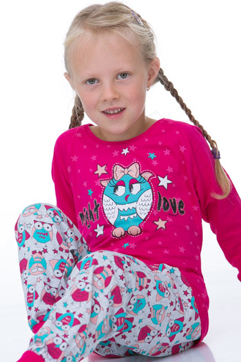 Dívčí pyžamo 1F0325