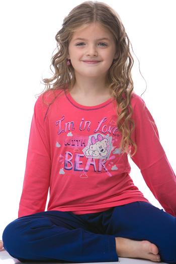 Dívčí pyžamo 1F0324