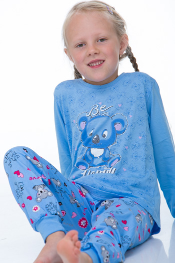Dívčí pyžamo 1F0316