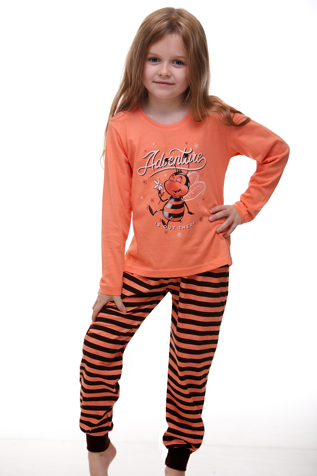 Dívčí pyžamo 1F0301