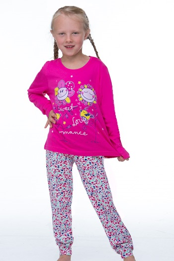 Dívčí pyžamo 1F0300
