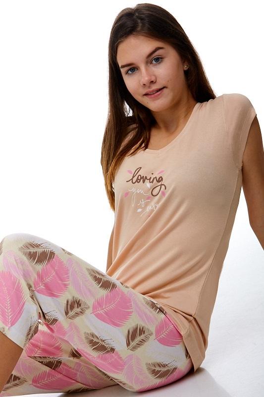 Dámské pyžamo jemné