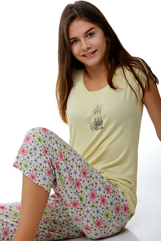 Dámské pyžamo jemné 1B0473