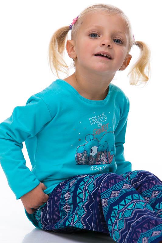 Pyžamo dívčí zateplené 1F0347