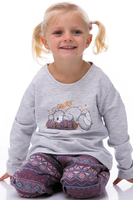 Pyžamo dívčí zateplené 1F0346
