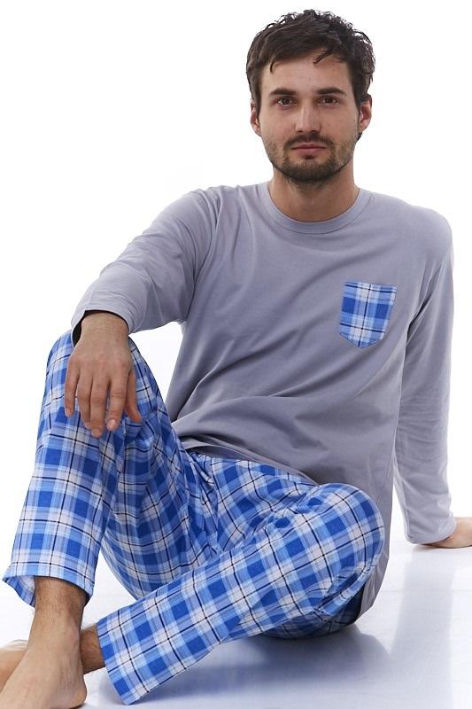 Pyžamo pro muže, flanel