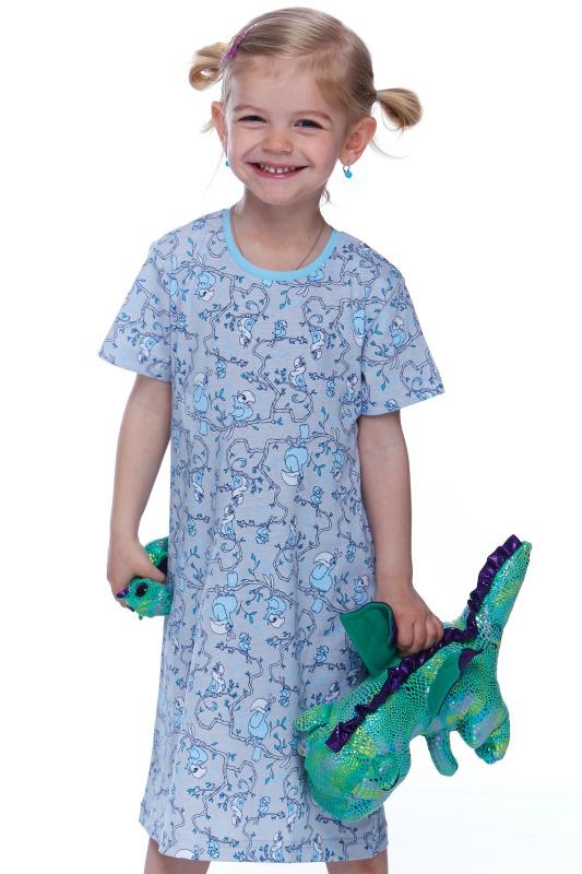 Dívčí košilka noční 1F0407