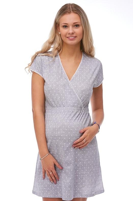 Těhotenská a kojící košilka 1C1265