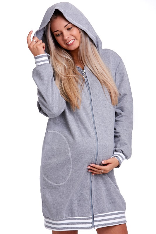 Těhotenský župan na kojení 1G0084