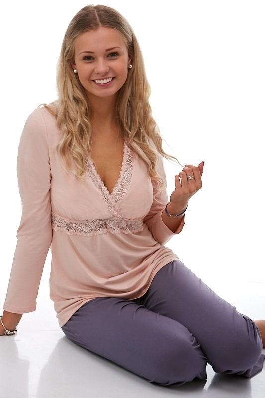 Dámské pyžamo luxusní 1E8112