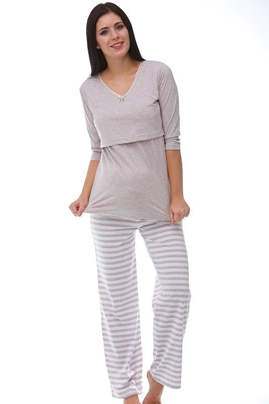 Mateřské pyžamo na kojení 1B0641