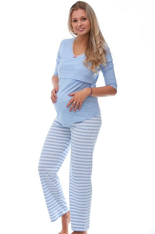 Mateřské pyžamo na kojení 1B0640