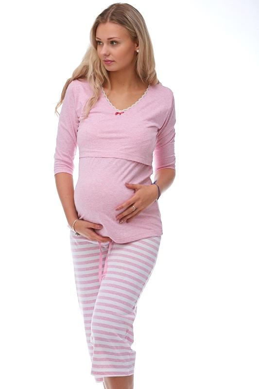 Mateřské pyžamo na kojení 1B0639