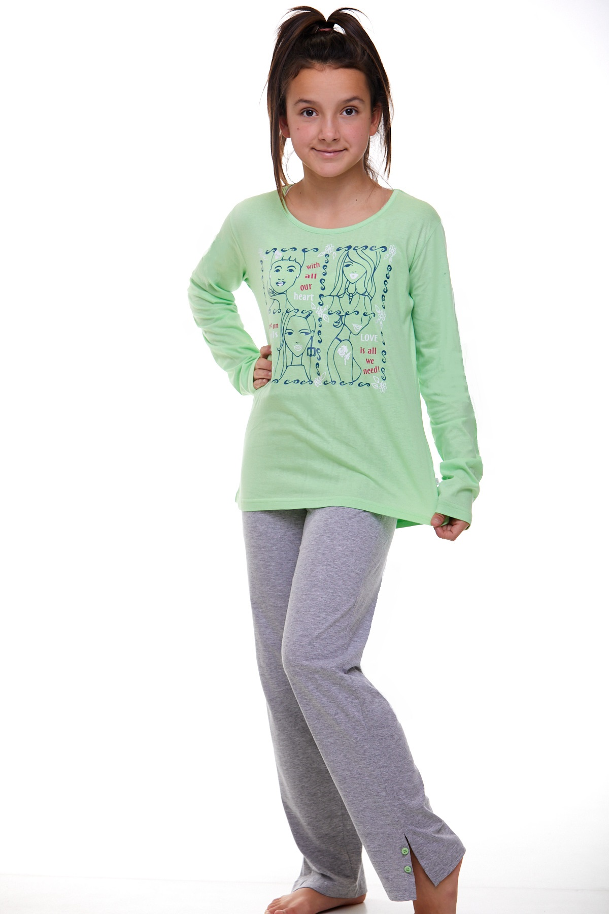Dívčí pyžamo Junior 1F0413