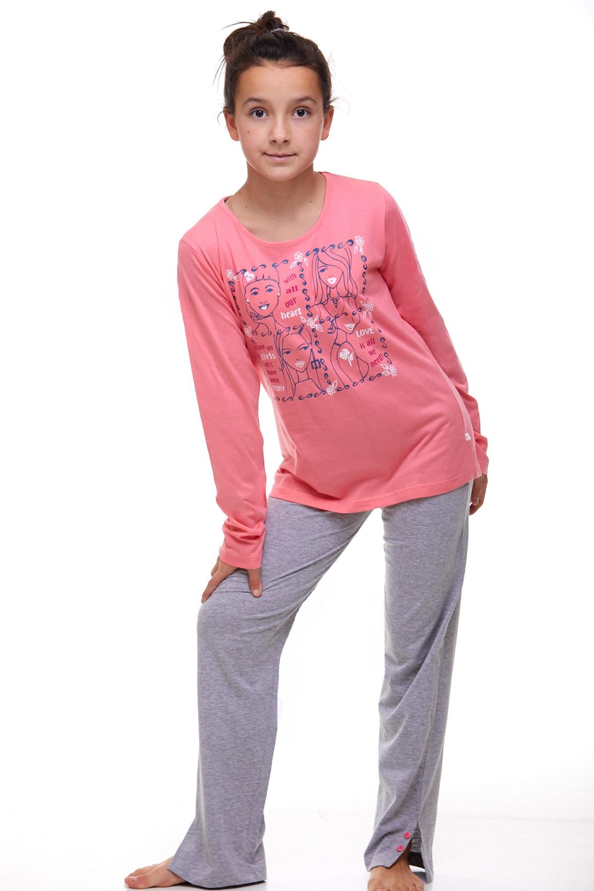 Dívčí pyžamo Junior 1F0412