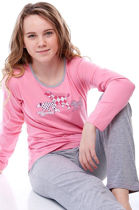 Dívčí pyžamo Junior 1F0411