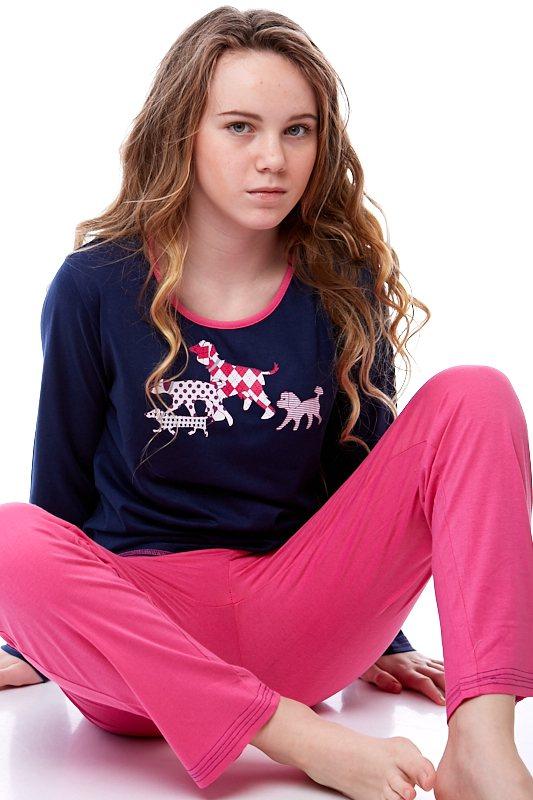 Dívčí pyžamo Junior 1F0410